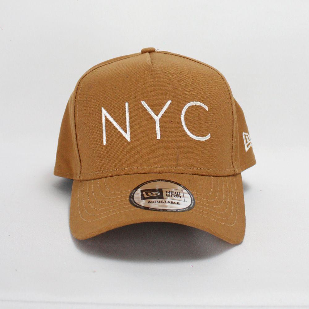 Boné New Era NYC Caqui