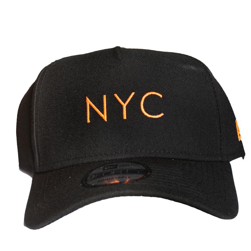 Boné New Era NYC Laranja