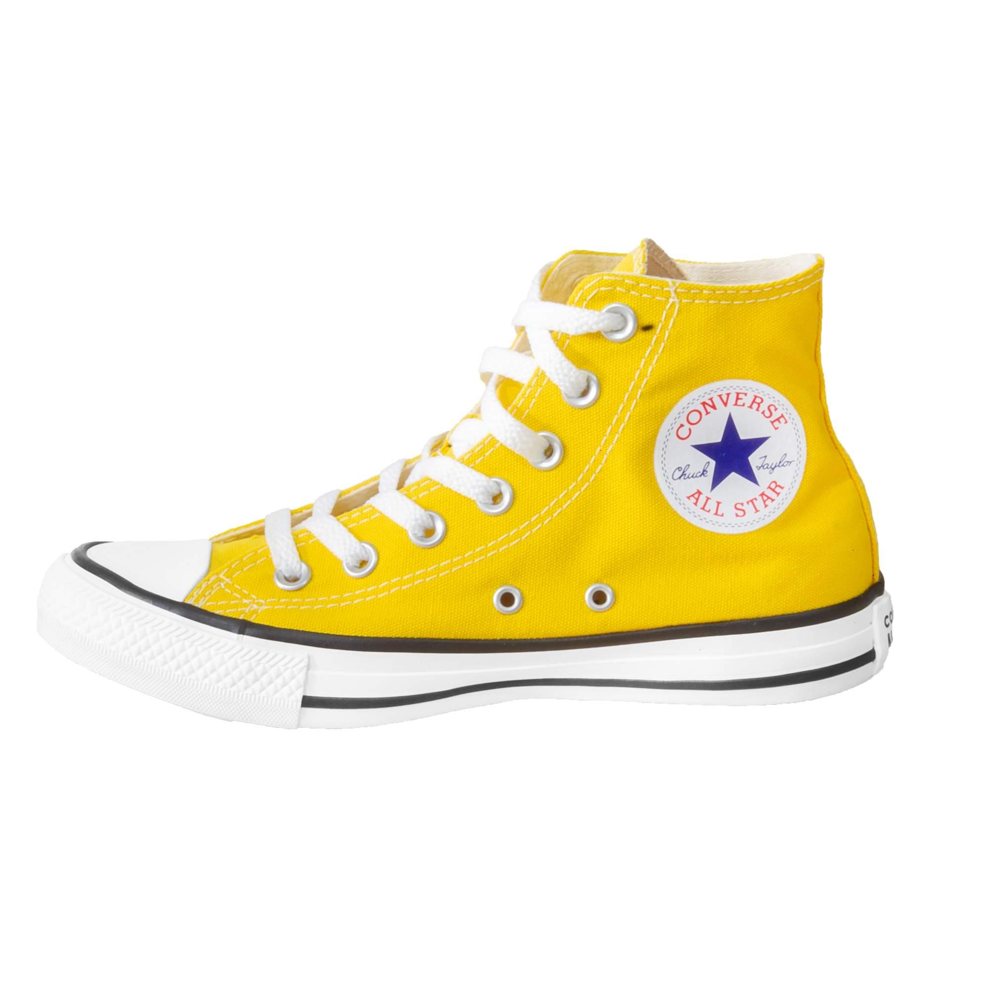 Bota Converse All Star Chuck Taylor Amarelo