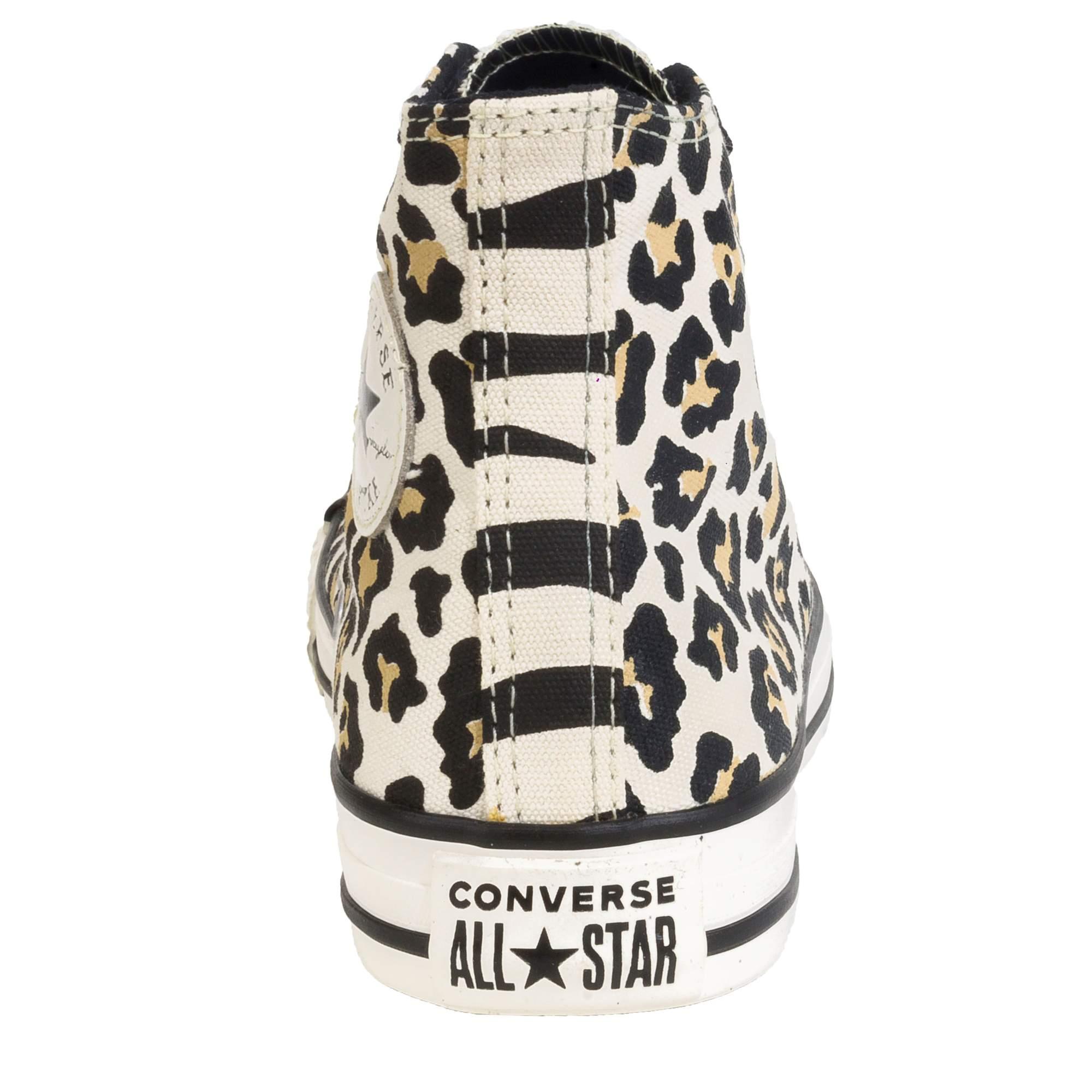 Bota Converse All Star Chuck Taylor Onça-Zebra