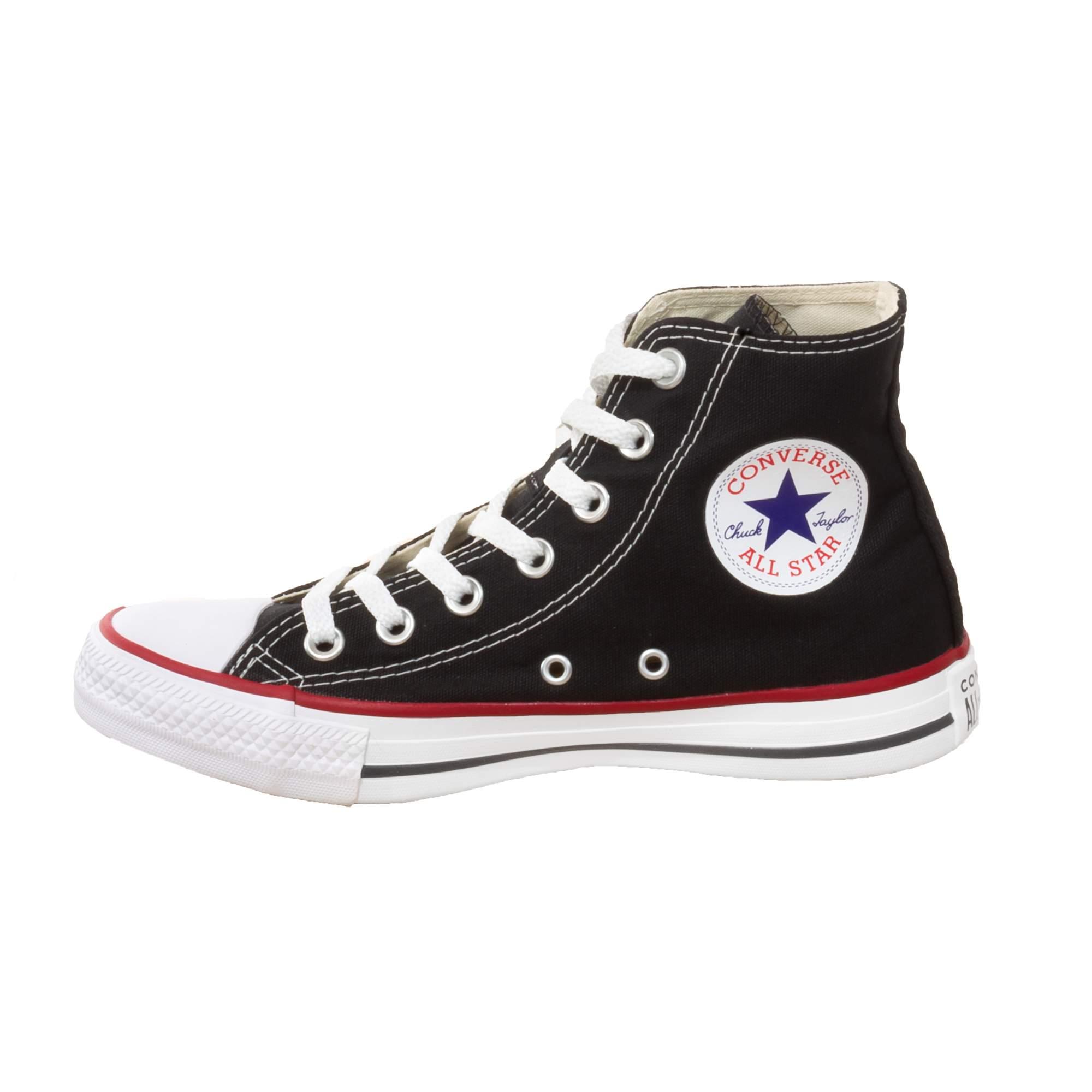 Tênis Converse All Star Chuck Taylor Preto Cano Longo