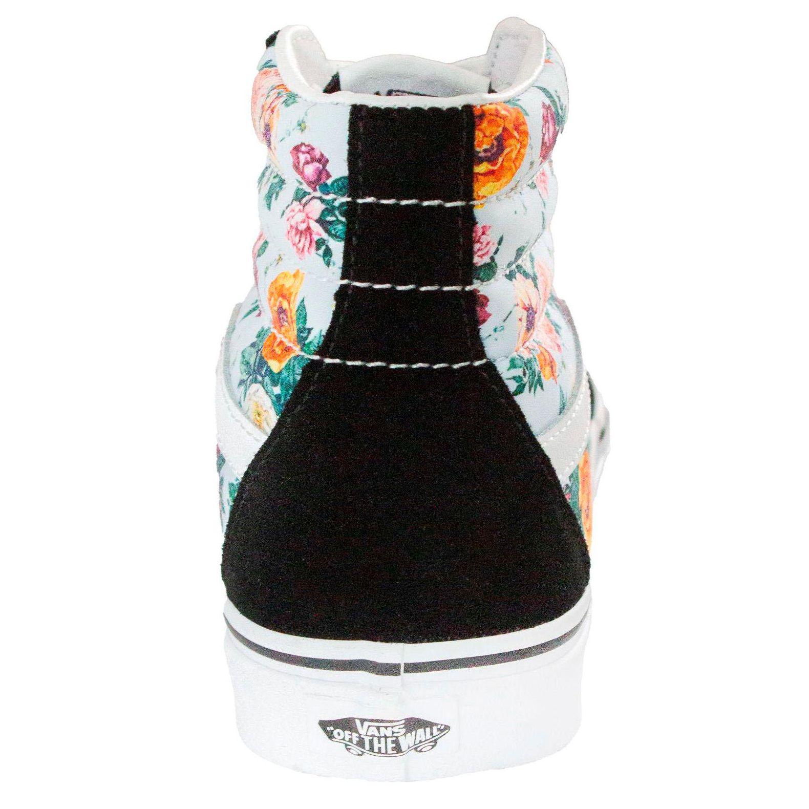 Tênis Vans SK8-HI Preta-Floral