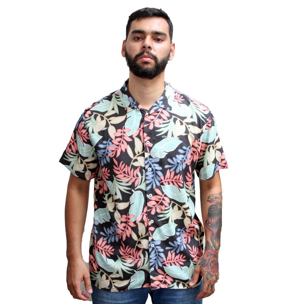 Camisa Aéropostale Floral Colors