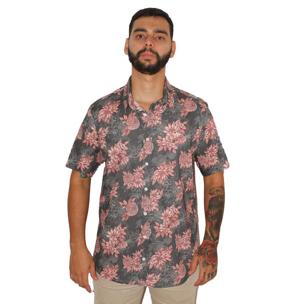 Camisa Aéropostale Floral Rosa