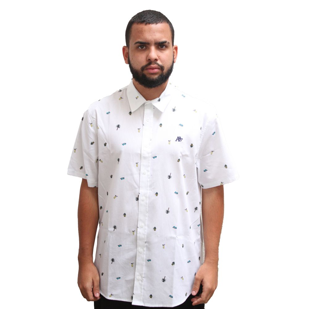 Camisa Aéropostale Party White