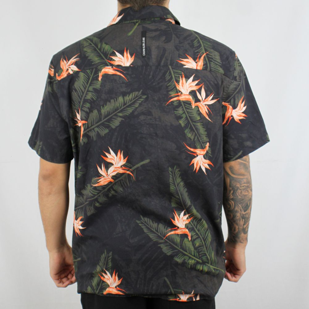 Camisa Calvin Klein Jeans Floral