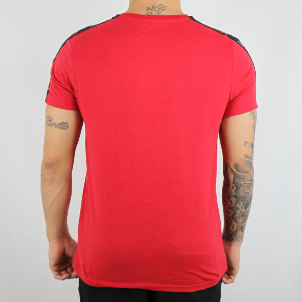 Camiseta Aeropostale A87 Vermelha
