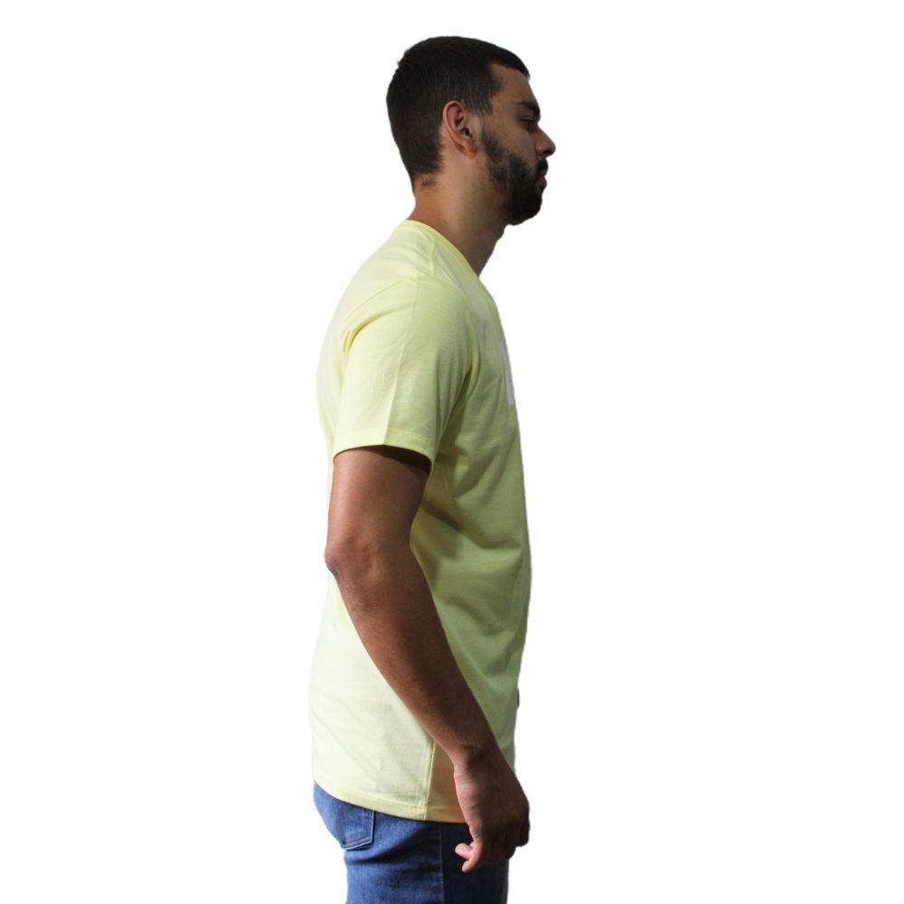 Camiseta Aéropostale Box Amarela