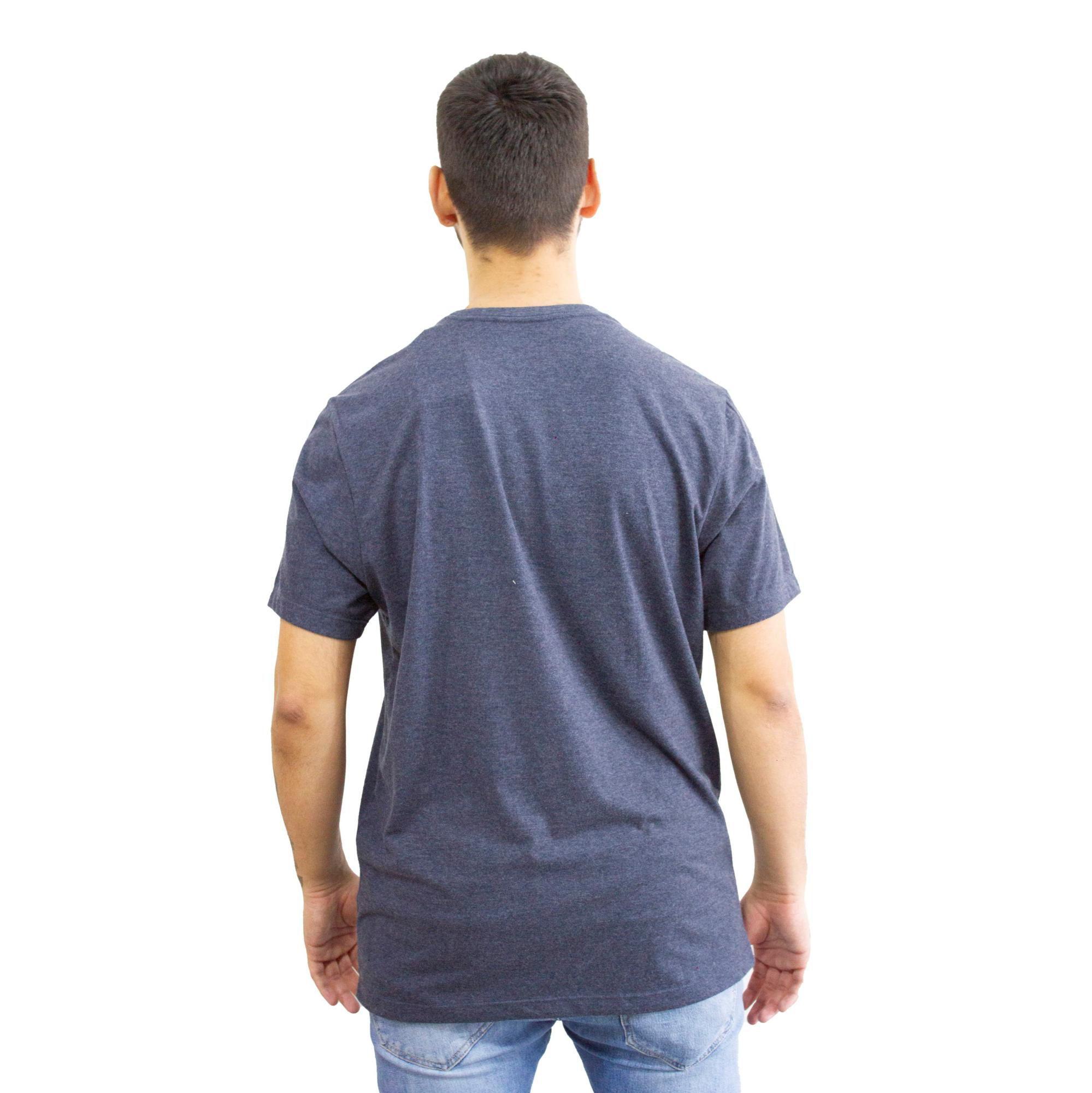 Camiseta Aéropostale California Mescla Azul