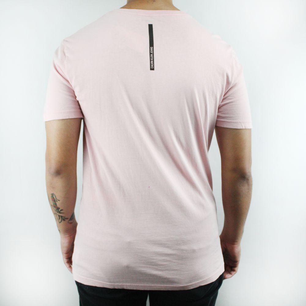Camiseta Calvin Klein Classic Rosa