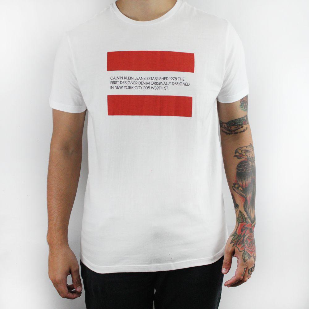 Camiseta Calvin Klein Jeans1978 Branca