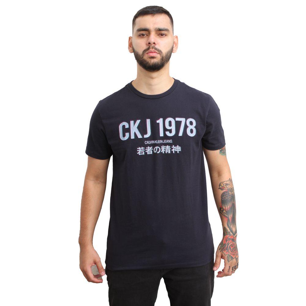 Camiseta Calvin Klein Jeans 1978 Marinho