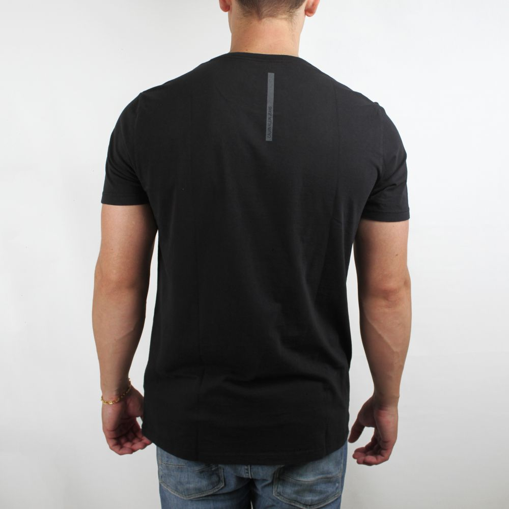 Camiseta Calvin Klein Jeans Basic Faixa Preta