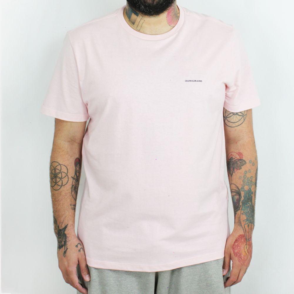 Camiseta Calvin Klein Jeans Basic Rosa
