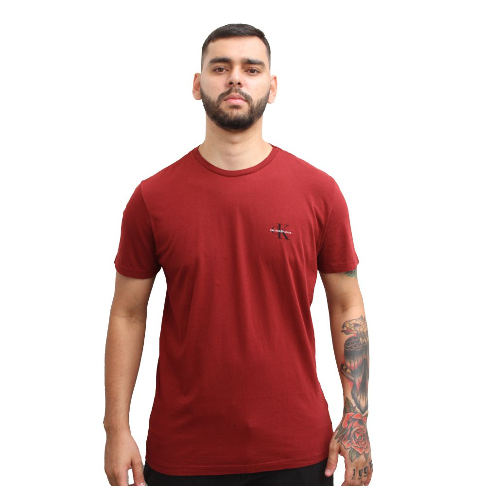 Camiseta Calvin Klein Jeans Vermelha