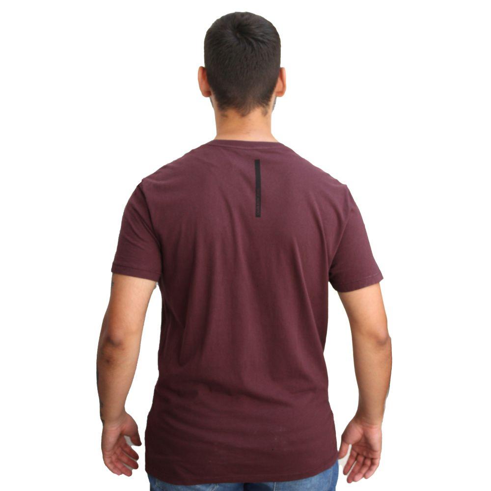 Camiseta Calvin Klein Jeans Basic Vinho