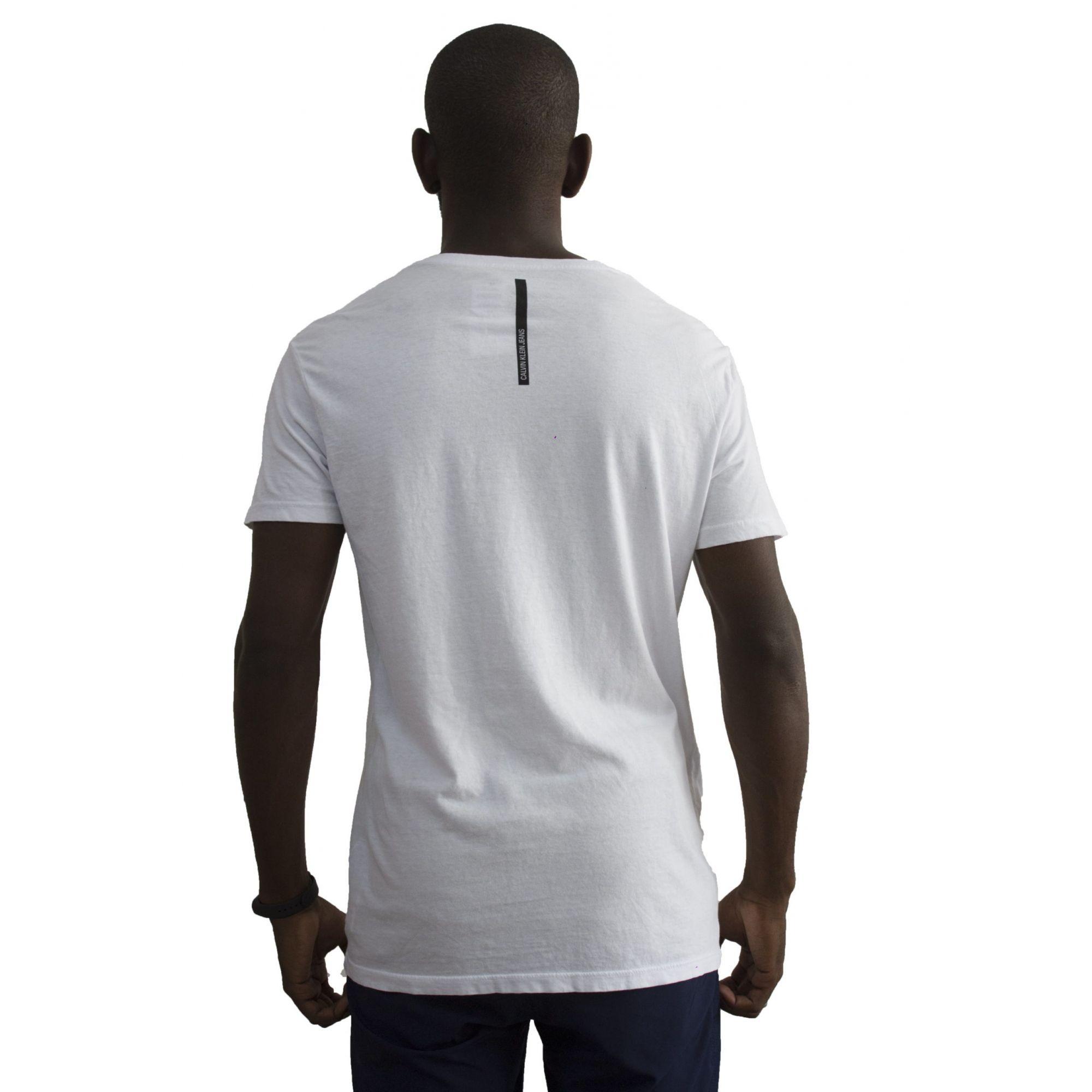 Camiseta Calvin Klein Jeans Branca