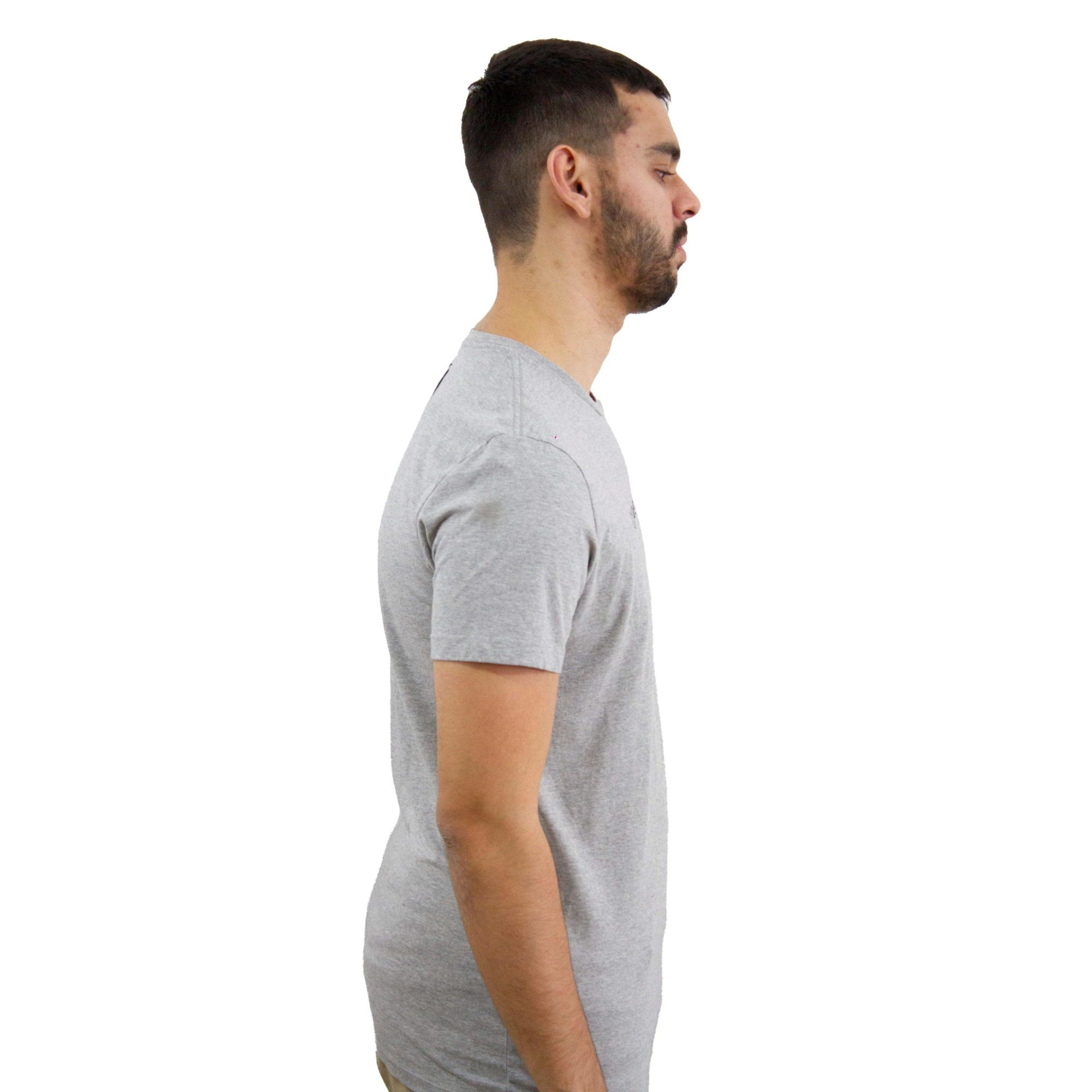 Camiseta Calvin Klein Jeans Cinza Mescla