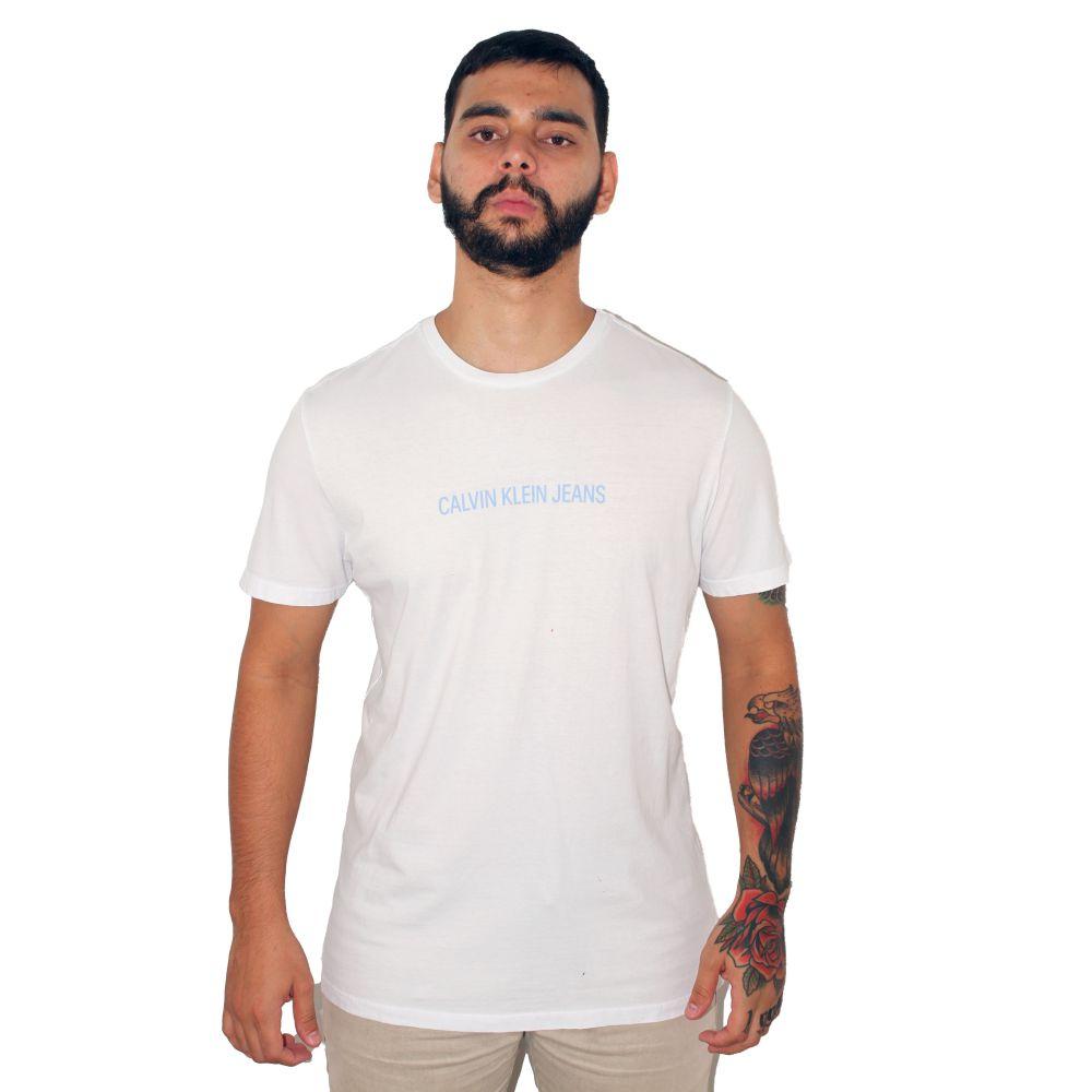 Camiseta Calvin Klein Jeans Classic Branca