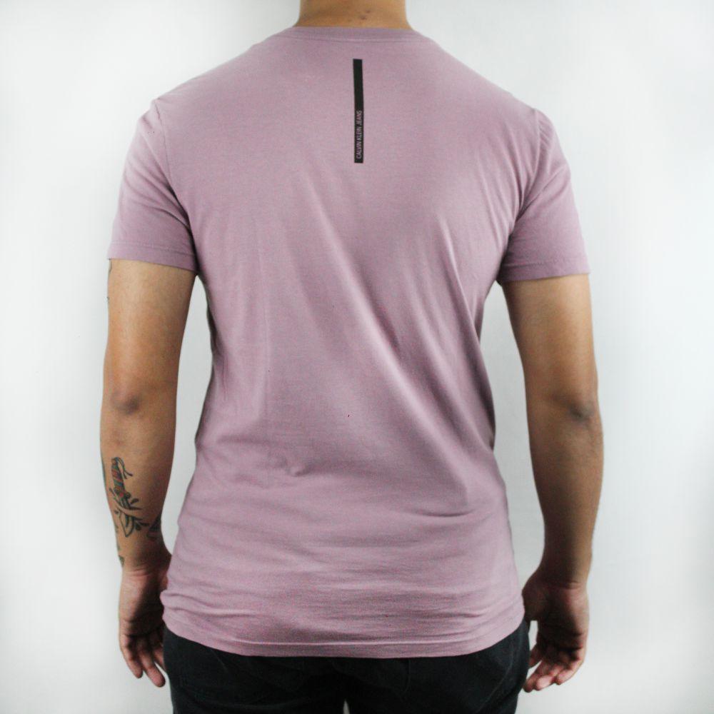 Camiseta Calvin Klein Jeans Classic Lilás