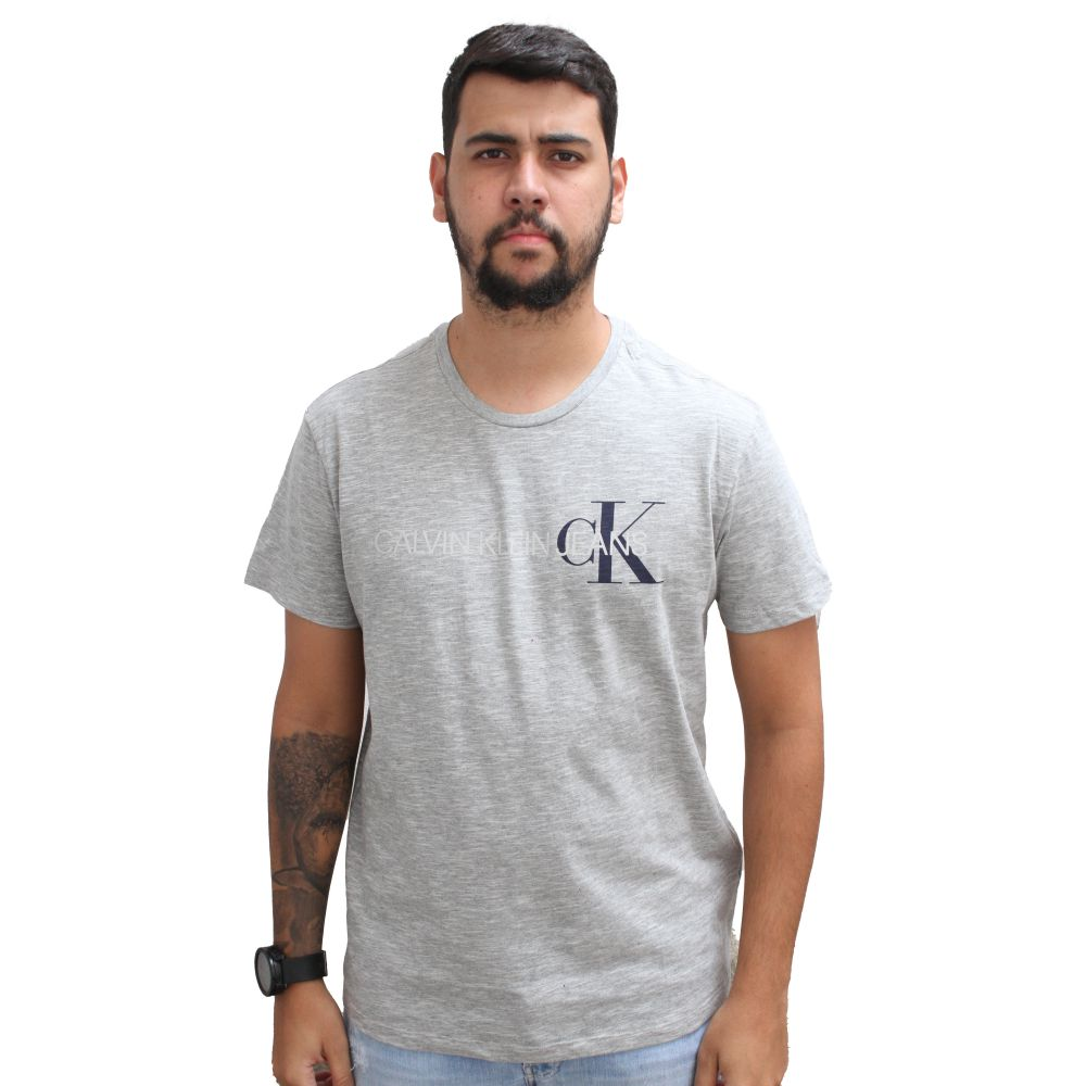 Camiseta Calvin Klein Jeans Flan Mescla