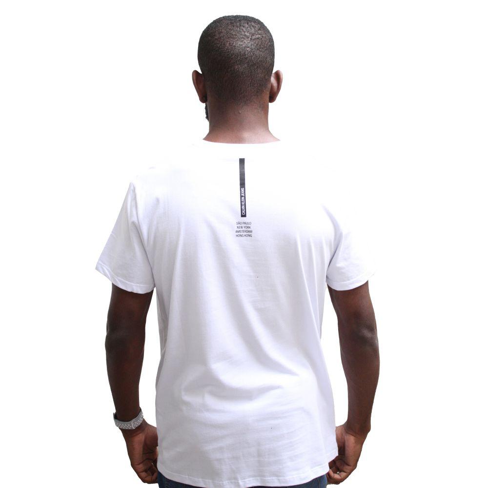 Camiseta Calvin Klein Jeans International White