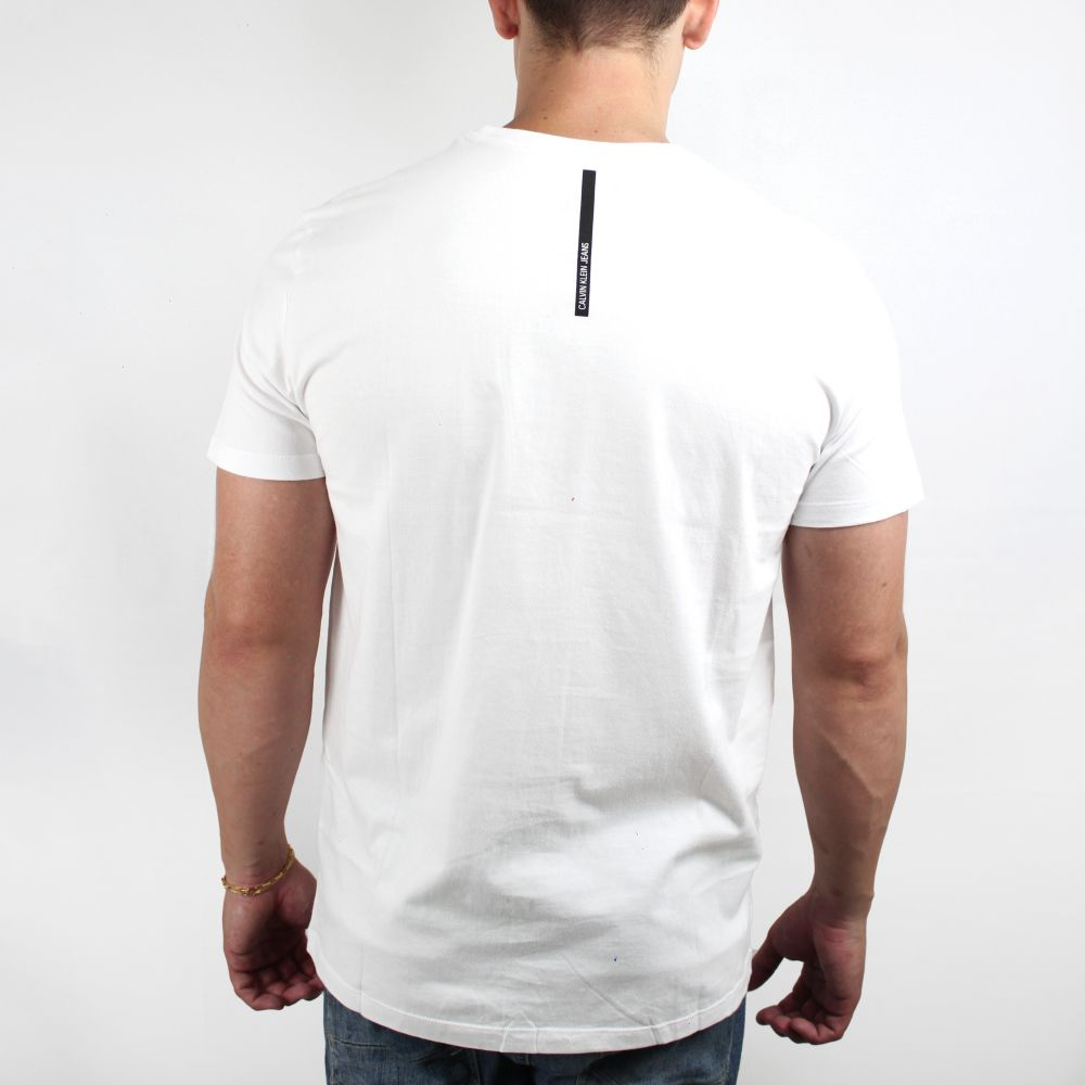 Camiseta Calvin Klein Jeans Logo Classic Branca