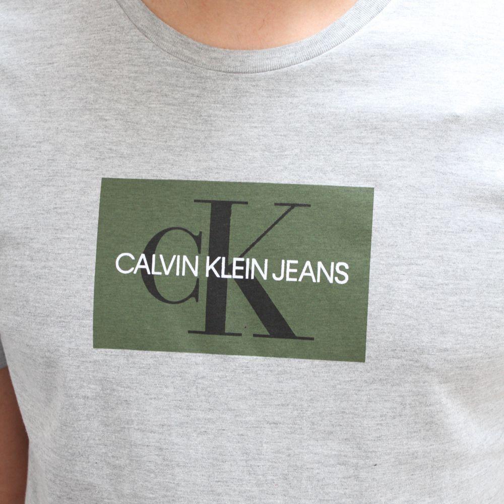 Camiseta Calvin Klein Jeans Logo Mescla