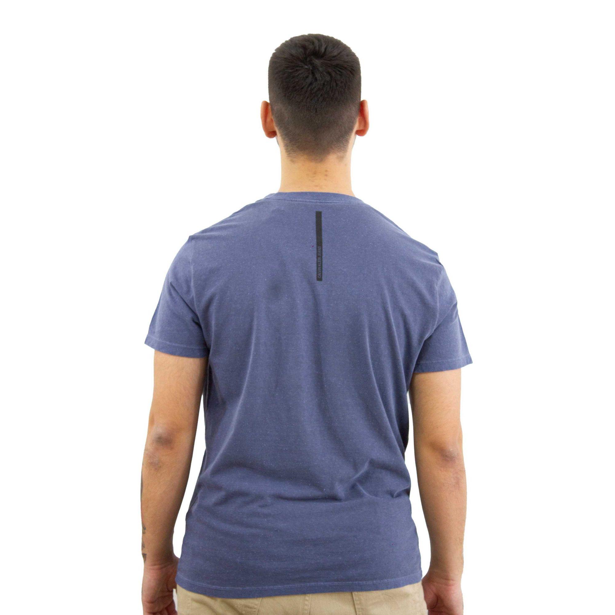 Camiseta Calvin Klein Jeans New York Azul Indigo