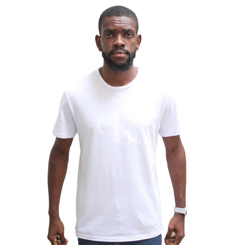 Camiseta Calvin Klein Jeas CK White