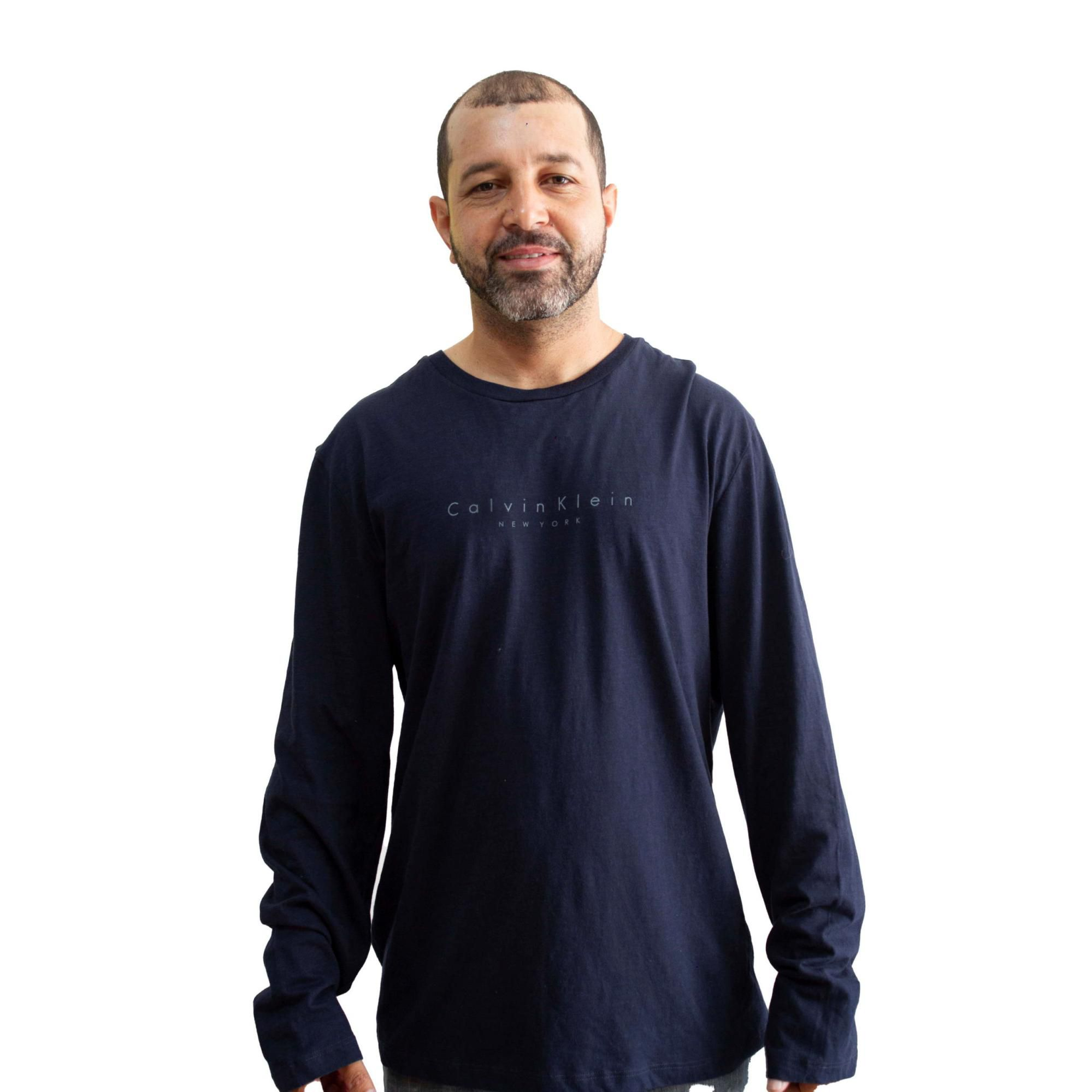 Camiseta Calvin Klein Marinho