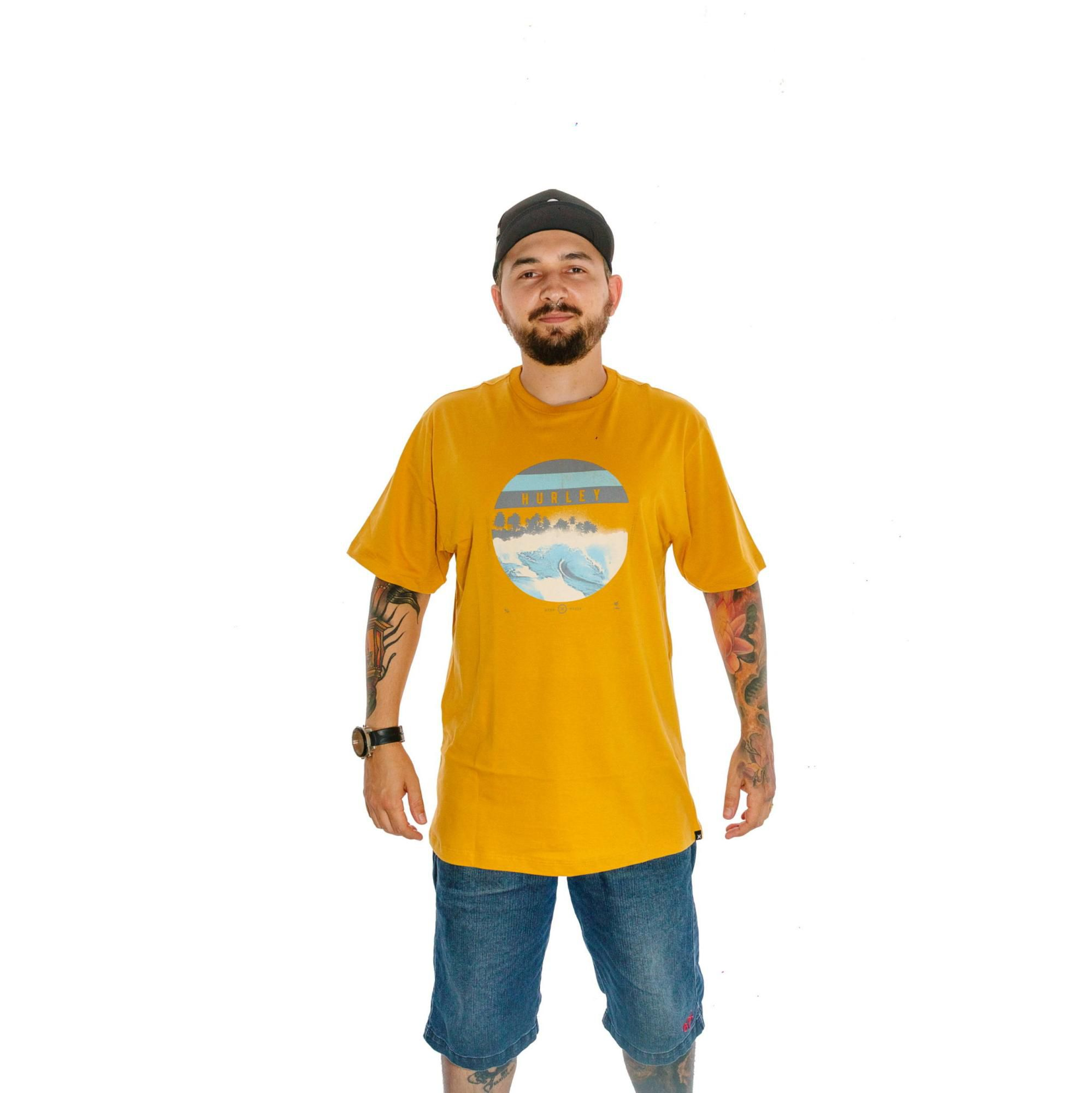 Camiseta Hurley Amarela
