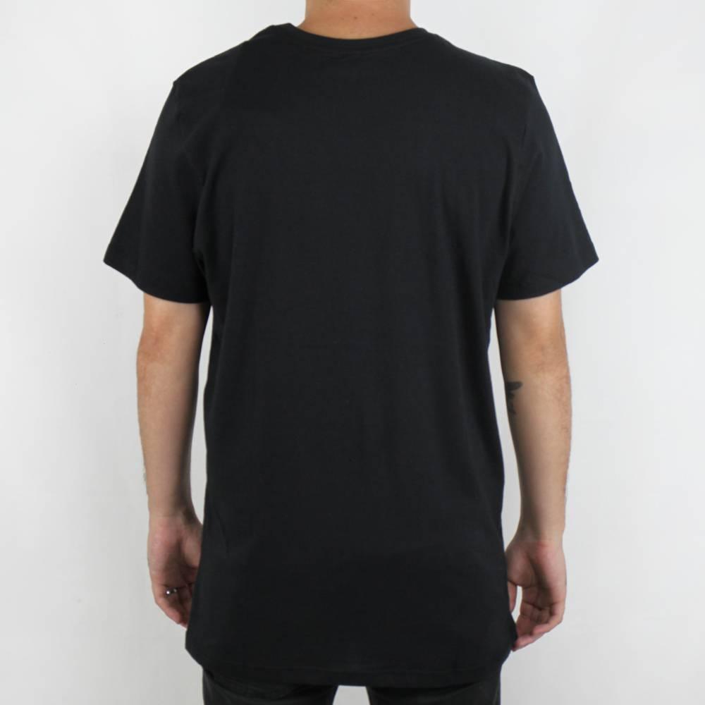 Camiseta Hurley Box Smoke Preta