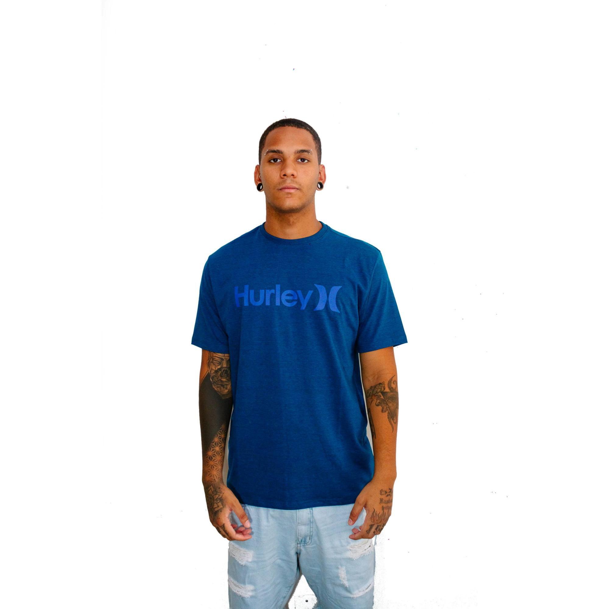 Camiseta Hurley Classic Azul