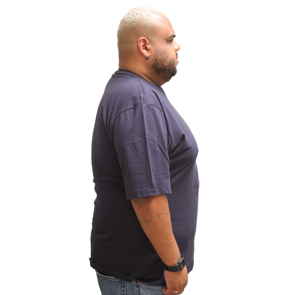 Camiseta Hurley Classic Plus Size Marinho