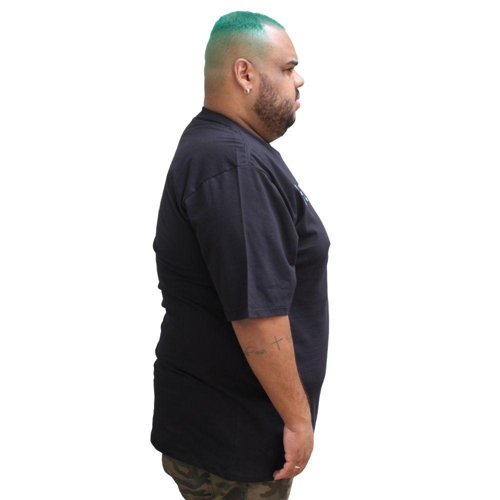 Camiseta Hurley Classic Plus Size Preta