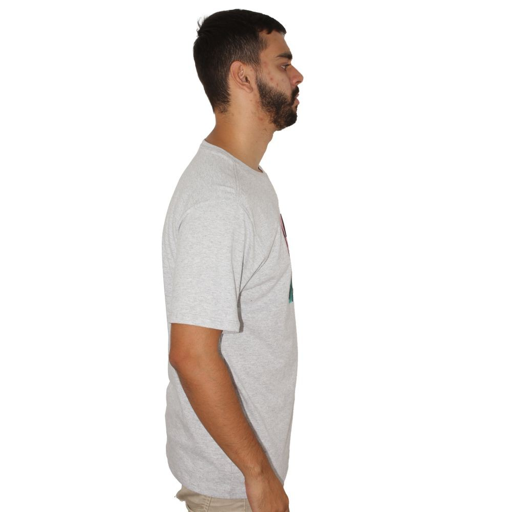 Camiseta Hurley Crush Palm Cinza
