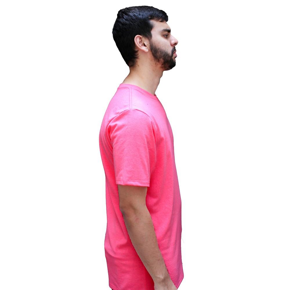 Camiseta Hurley Heat Neon Pink
