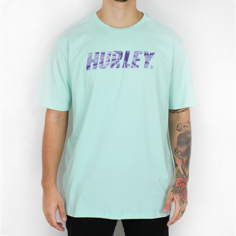 Camiseta Hurley Hypnosis Verde