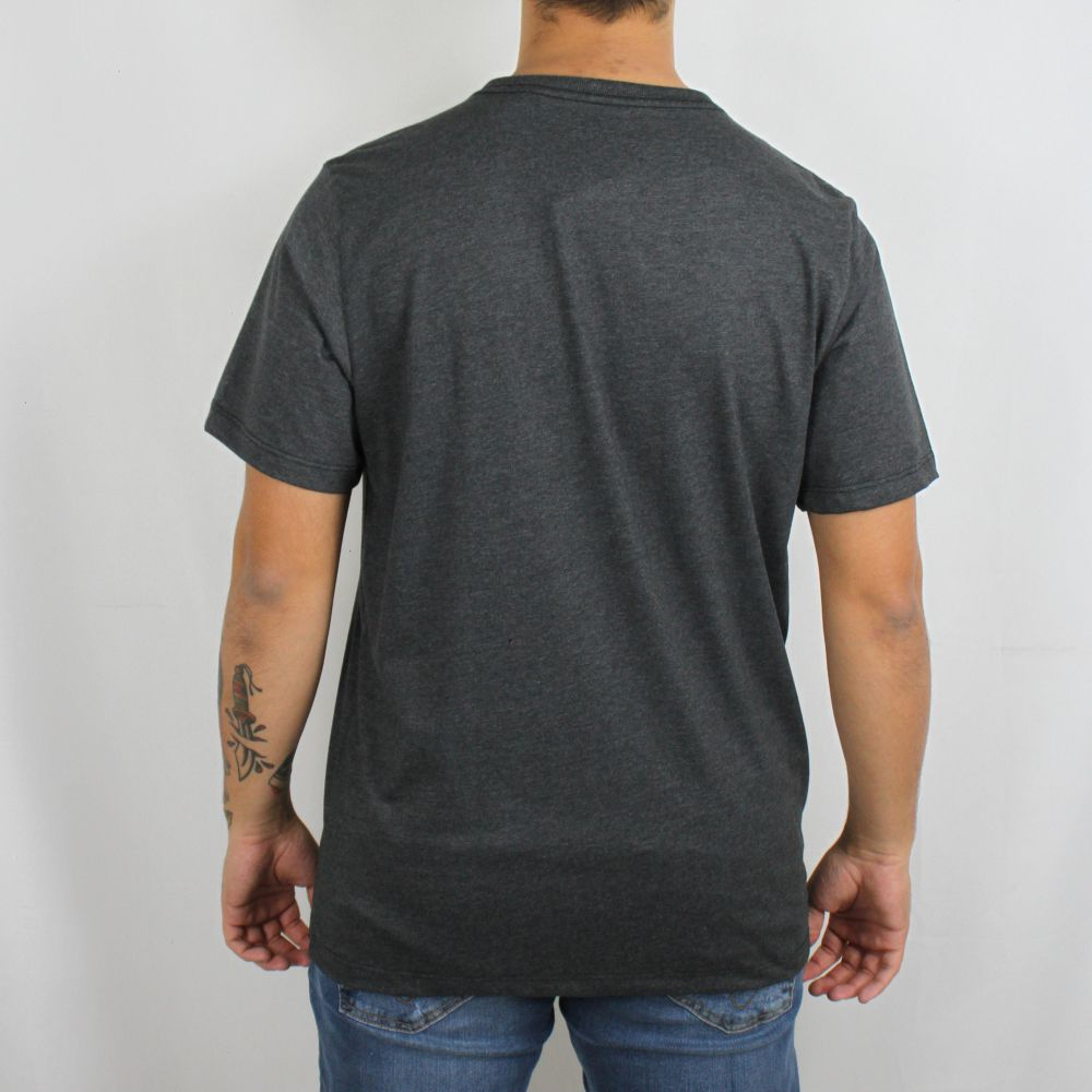 Camiseta Hurley Icon Geo Grafite