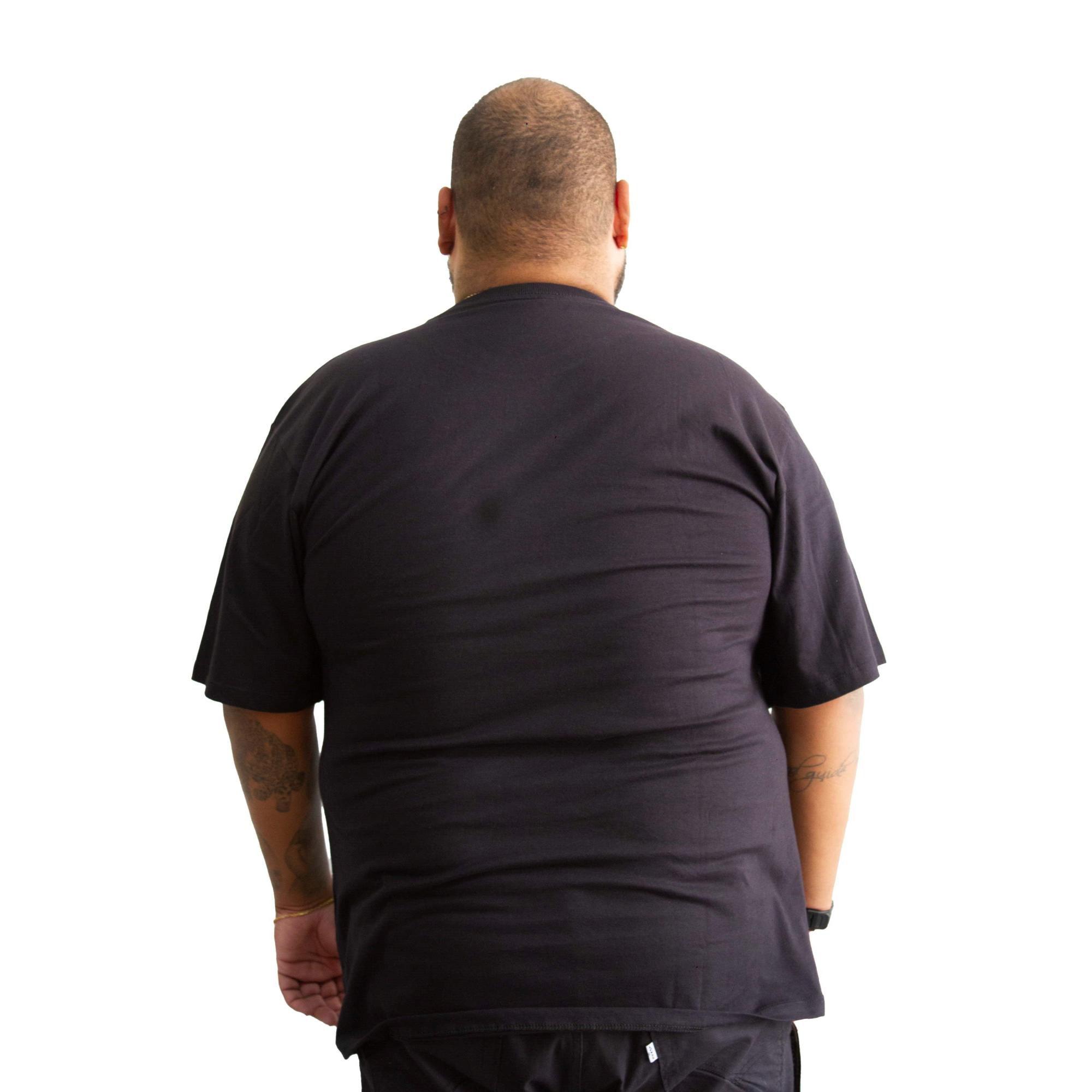 Camiseta Hurley Icon Plus Size Preta