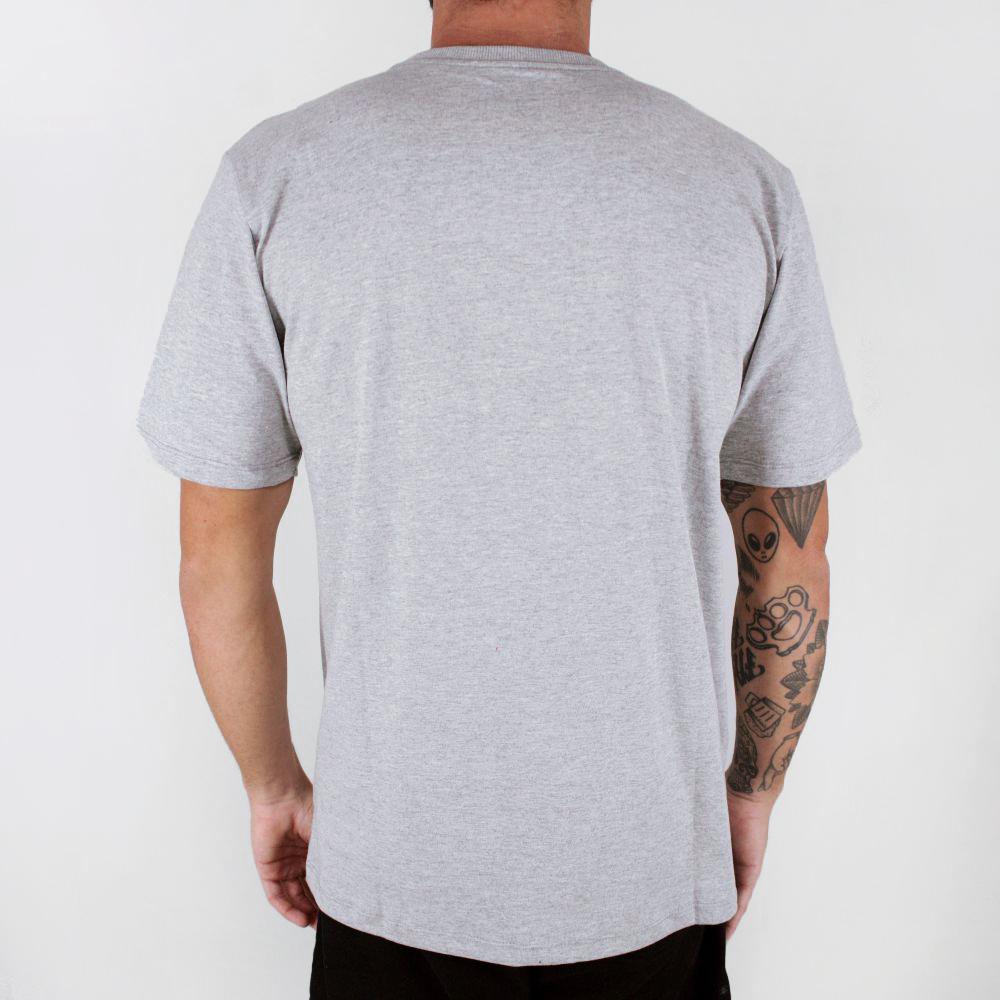 Camiseta Hurley Icon Slash Cinza
