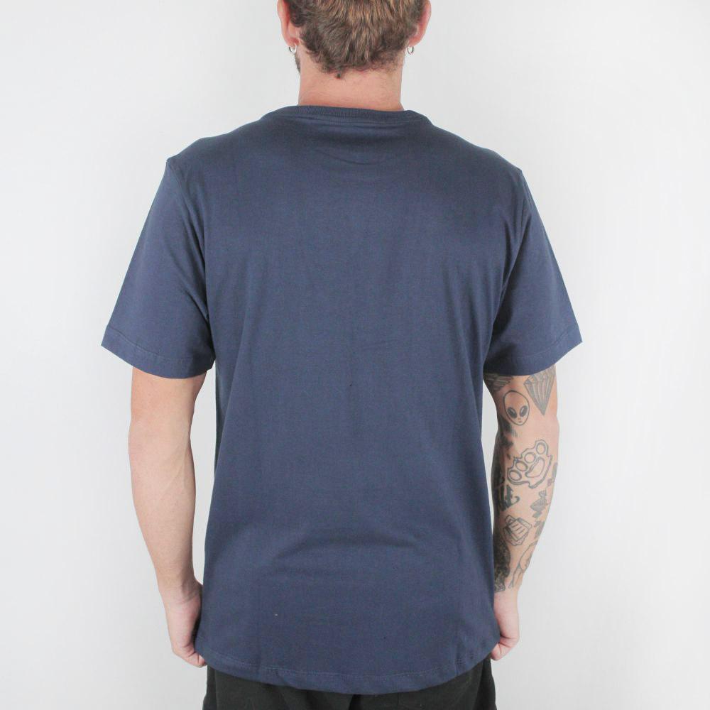 Camiseta Hurley Icon Smoke Marinho