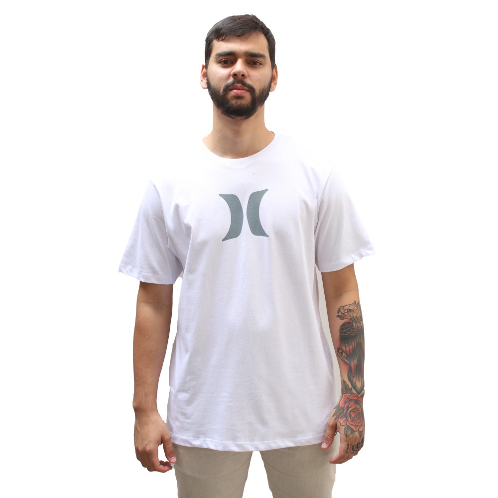 Camiseta Hurley Icon White