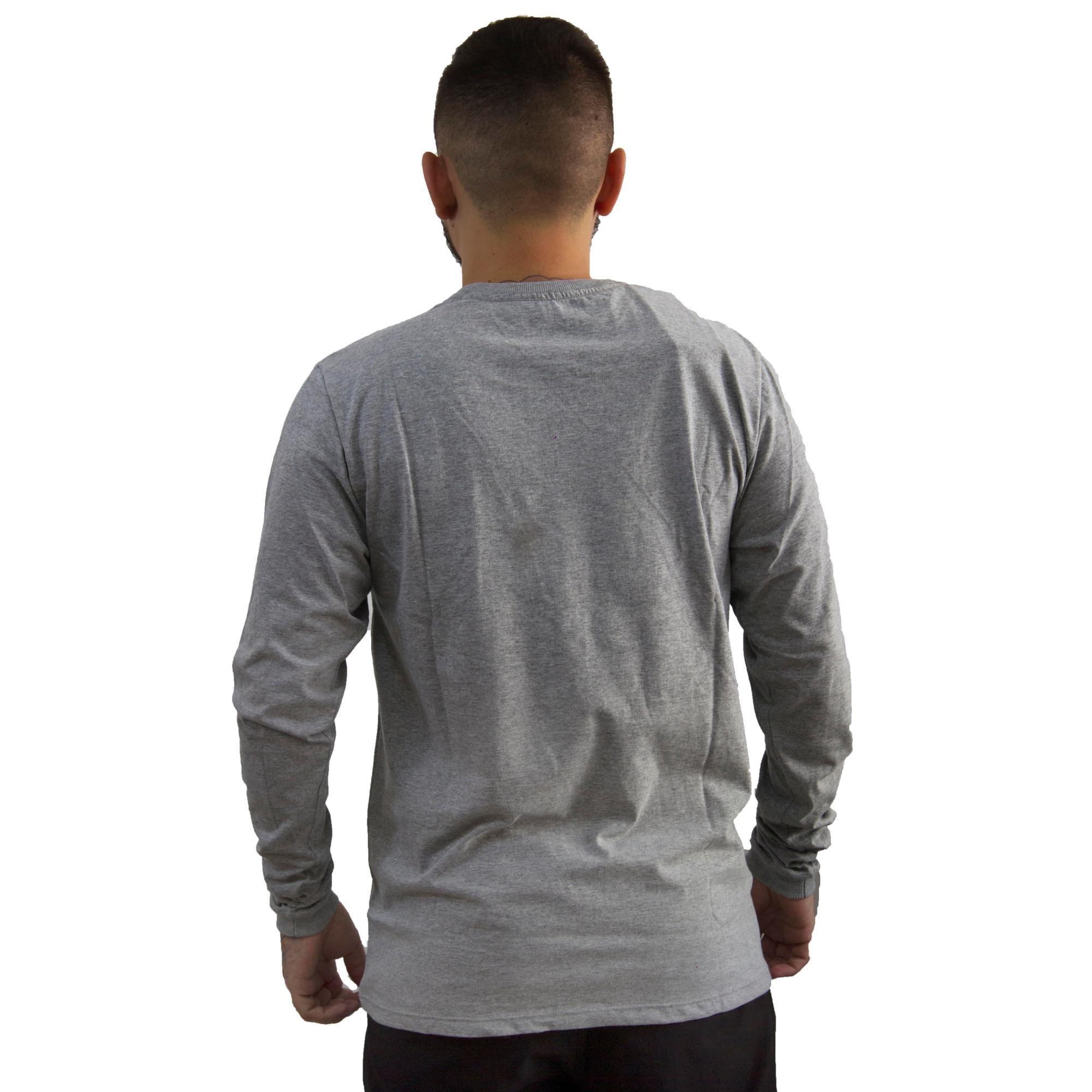 Camiseta Hurley Manga Longa Mescla