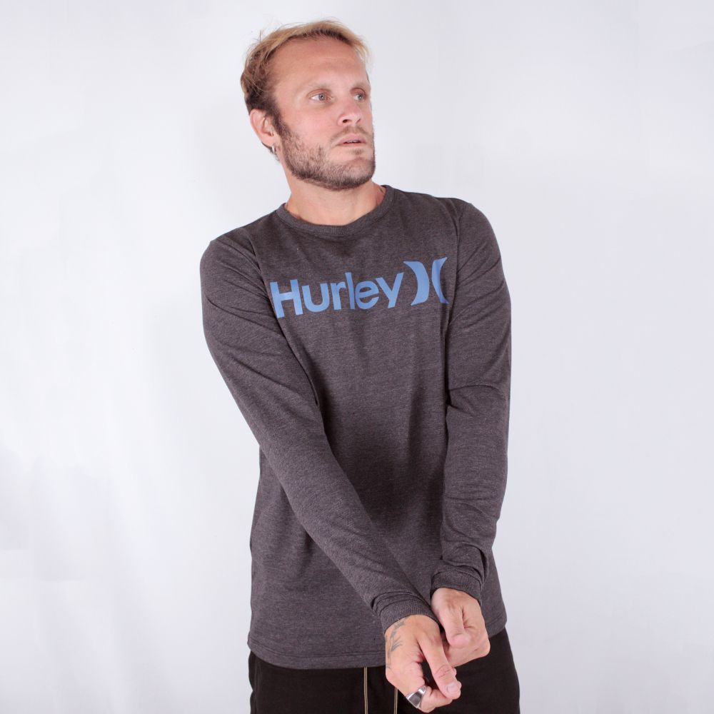 Camiseta Hurley Manga Longa O&O Solid