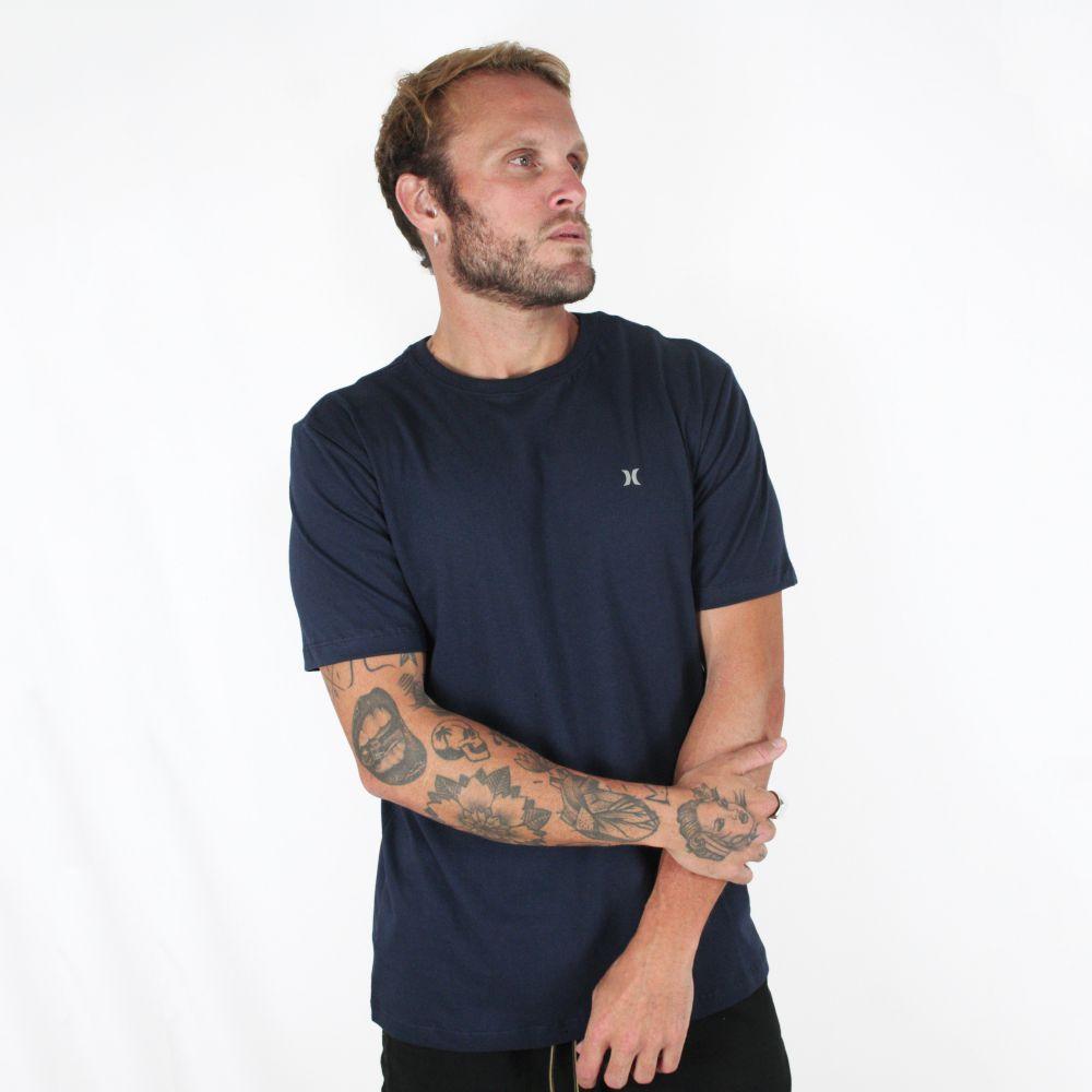Camiseta Hurley Mini Icon Marinho