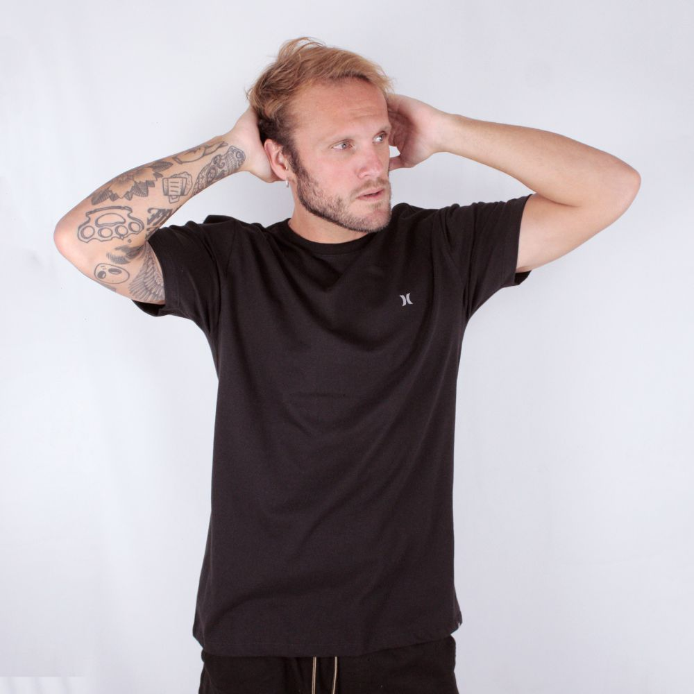 Camiseta Hurley Mini Icon Preta