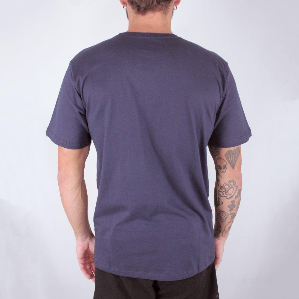 Camiseta Hurley O&O Smoke Marinho
