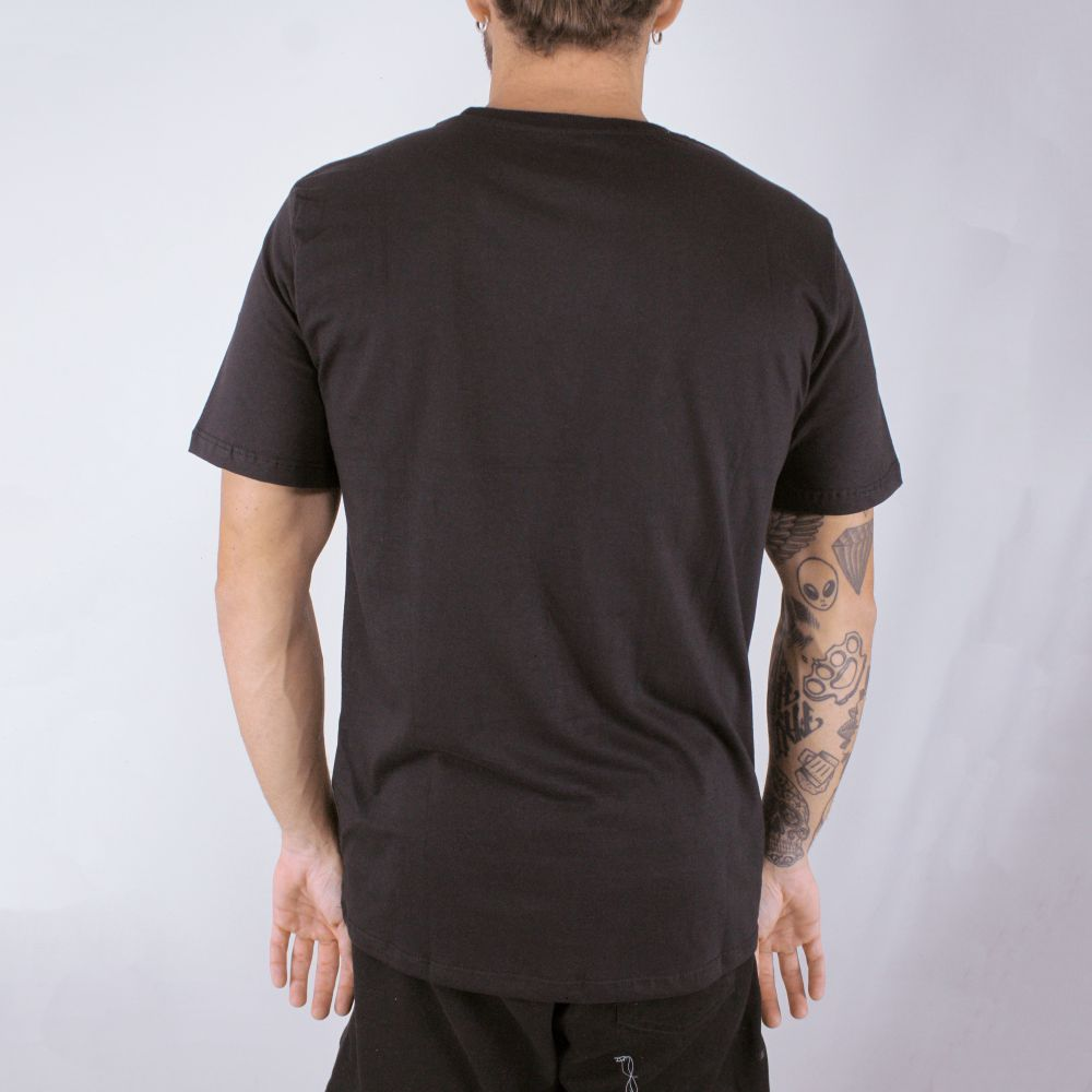 Camiseta Hurley O&O Smoke Preta